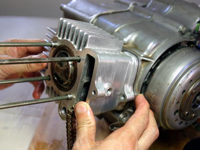 モンキーのエンジンカスタム