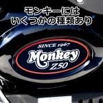モンキーの種類 – ビンテージ、4リットル、6V、12V、FI