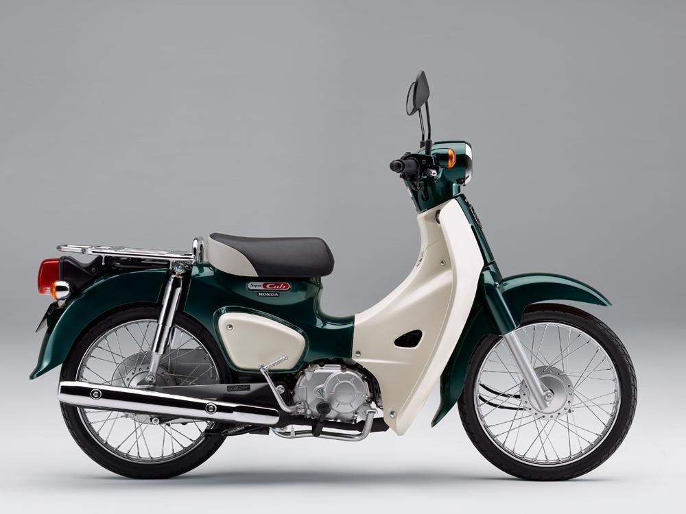 スーパーカブ50 タスマニアグリーンメタリック