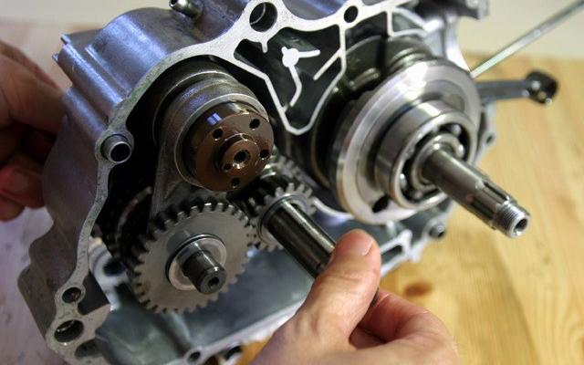モンキーのエンジン分解