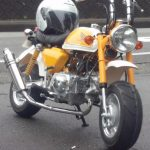 モンキーカスタム ベース車両:モンキー 排気量:88cc FIのセミファット・ライトチューン