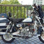 モンキーカスタム ベース車両:モンキー 排気量:150cc モンキーダビッドソン ハイウェイ仕様
