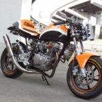 エイプ100カスタム ベースマシン:エイプ100 排気量:115cc 個性派レーサーレプリカ