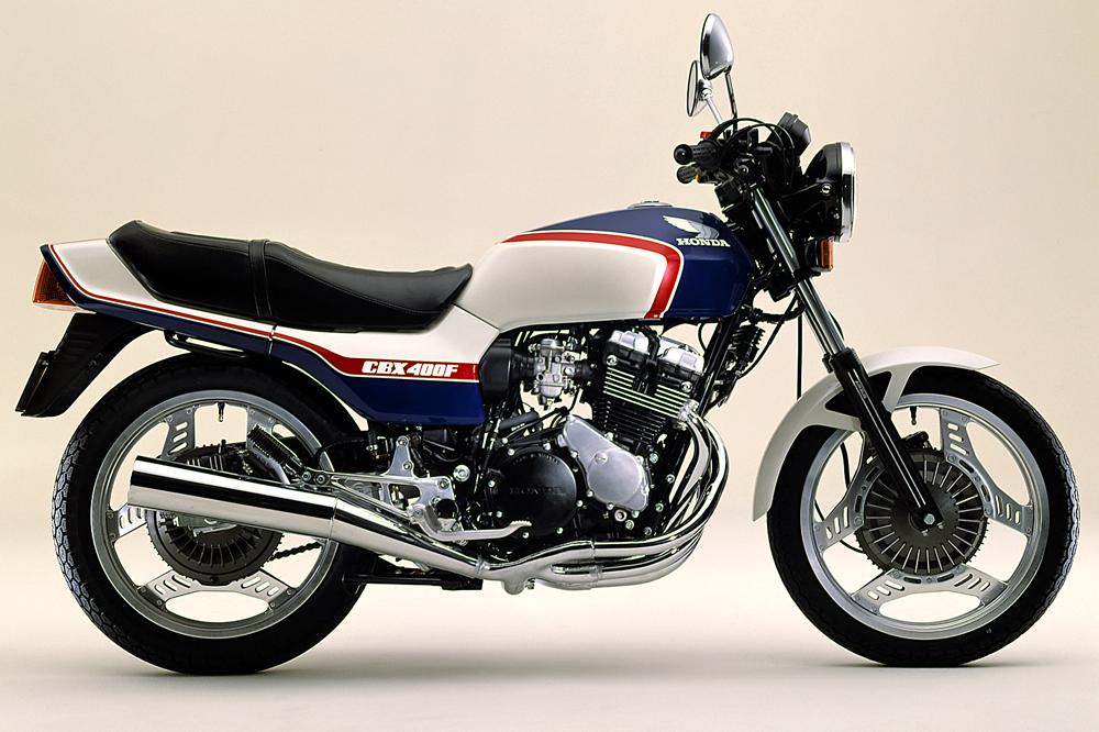 ホンダCBX400F(ブルー×ホワイト)