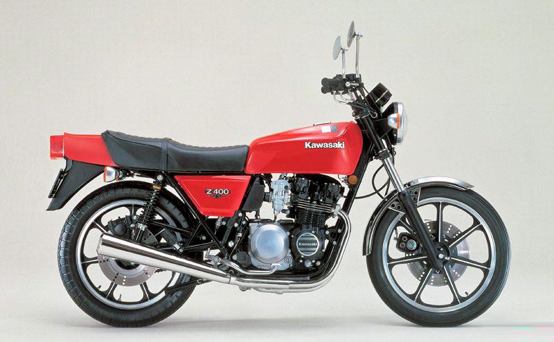 カワサキZ400FX(初期型)